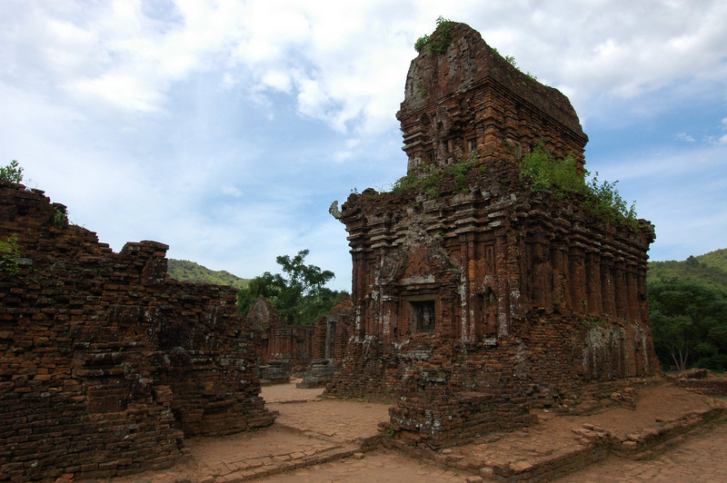 The ruins at My Son, Vietnam.