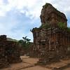 The ruins at My Son, Vietnam.