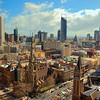 Melbourne, Australia skyline.