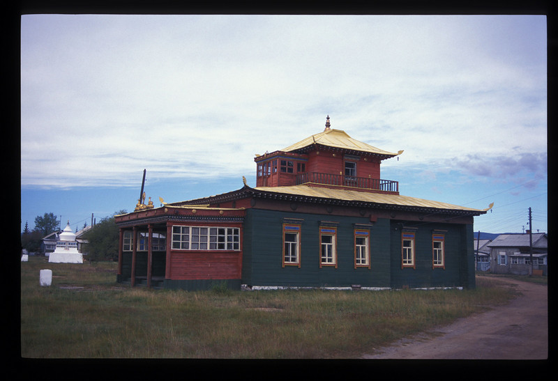 Bhuddhist monastery, or datsan, near Ulan Ude, Buryatian Autonomous Republic, Siberia, Russia.