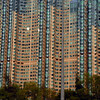 High rise housing, Kowloon, China.