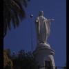 Madonna statue, Santiago, Chile.