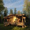 Cabin near Varkaus, Finland.
