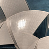 Detail of the Sydney Opera House, Australia.