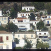 Buildings along the waterfront, Greek Isles.