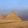 The Pyramids at Giza, Egypt.