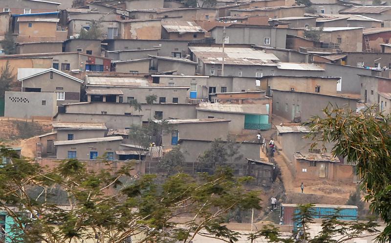 Kigali, Rwanda suburb.