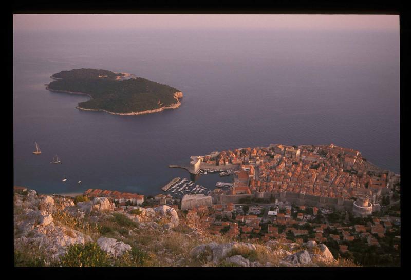 Dubrovnik, Croatia old town.