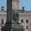 Monument, Victory Square, Minsk, Belarus.
