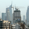 Construction on the Dubai, United Arab Emirates, skyline.