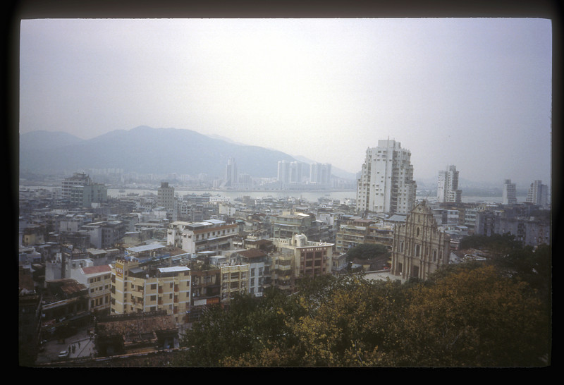 Macau, China skyline.