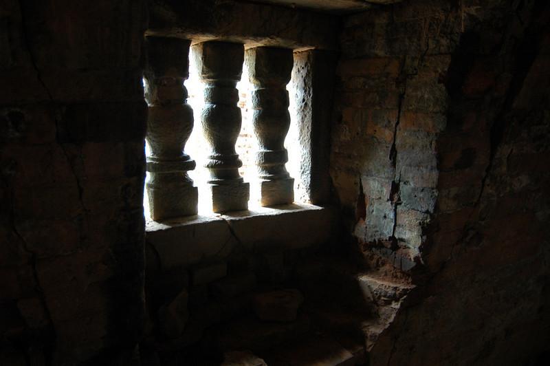 Interior of the ruins at My Son, Vietnam.