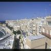 Mediterranean Sea waterfront, Valetta, Malta.