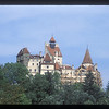 Bran Castle, Bran, Romania, marketed as the home of the star of the book Dracula, by Bram Stoker.