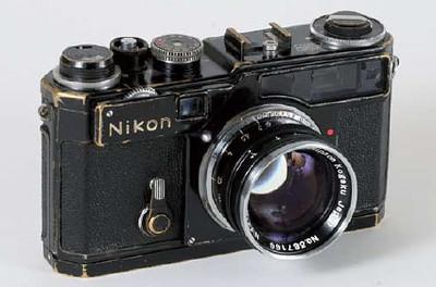 black-Nikon-SP-rangefinder-auction