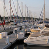 McKinley Marina along the lakefront in Milwaukee, WI