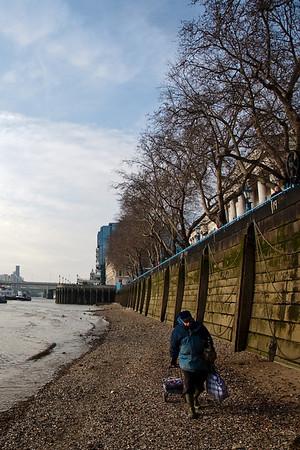 Thames north bank (London)