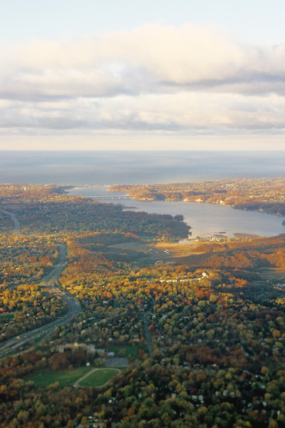 Irondequoit Bay and Lake Ontario