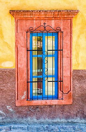 Blue Chapel Window
