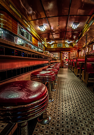 Diner from the past