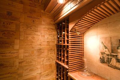 Wine Cellar left side