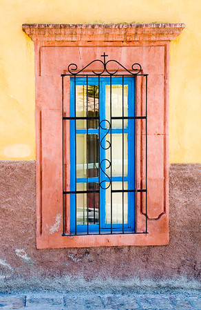 Chapel Window<br /> San Miguel de Allende, Mexico