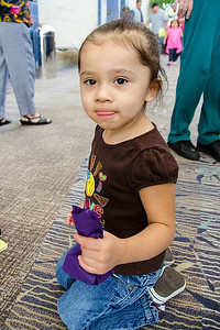 Kenzley Gonzalez, 2, of Ardmore.