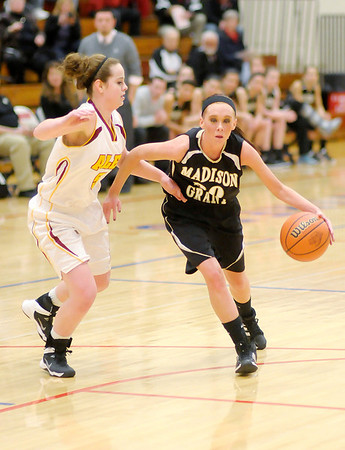 Don Knight / The Herald Bulletin<br /> Alexandria faced Madison-Grant in sectional action at Elwood High School on Wednesday.
