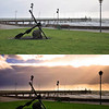 Glenelg jetty: before and after Photoshop ;-)