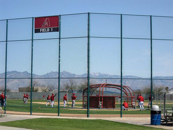 Spring Training Baseball in Arizona - Cactus League action