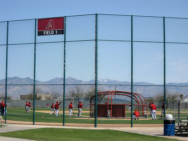 Spring Training Baseball in Arizona - Cactus League action