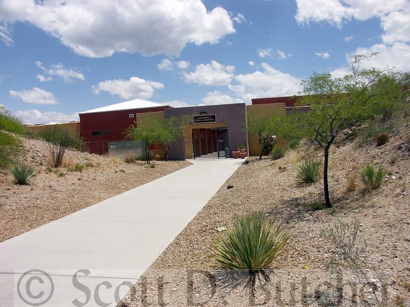 Biosphere 2 - Entrance