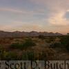 Twilight, Santa Catalina Mountains