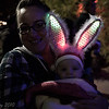 My niece and her daughter Jayden at Zoo Lights