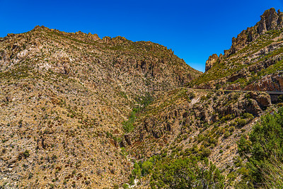 The road up Mount Lemmon