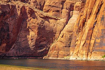 Kayakers in Glen Canyon
