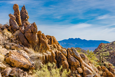 Boulders and Four Peaks