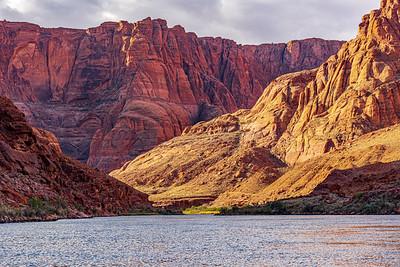 The Colorado River in Glen Canyon