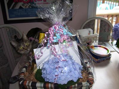 Arlene's birthday basket 7/09