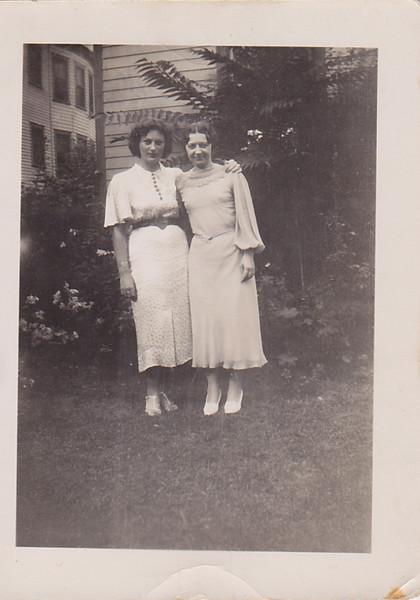 Grace Brokaw and Edna Arnold