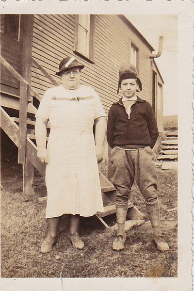 1930's - Hollis Arnold and Ruth Arnold (I think)