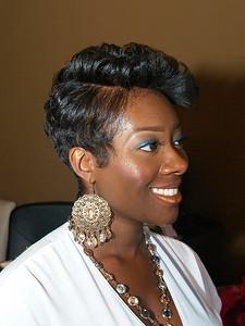 Shaunda Kitchens, Co-Owner, Licensed Esthetician/Make Up Artist.