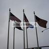 Flags at work, Aurora, CO