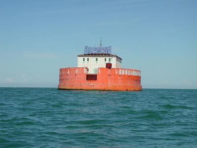 Cleveland lake erie water intake 080804