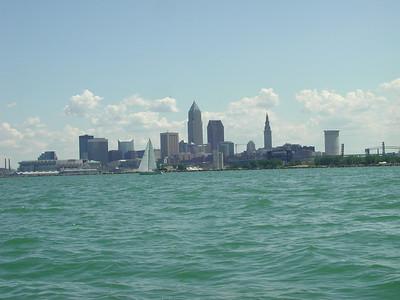 Cleveland coastline