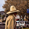 Just a street shot. I liked his hat!
