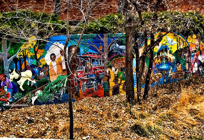 Granite Creek Downtown, wall art.