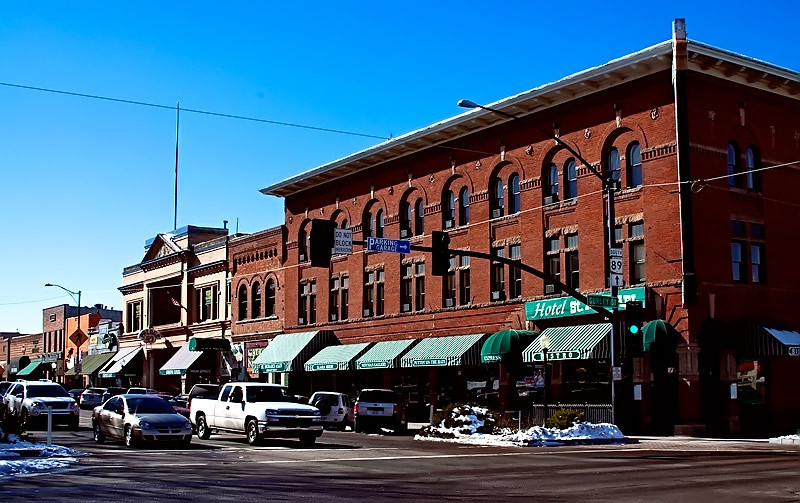 Downtown Prescott, Az. 2010