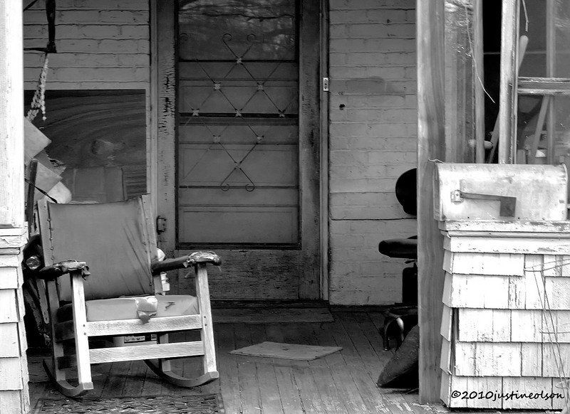 Prescott porch -times gone by.