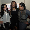 Tonya Wright, Kandi Burress, and Phaedra Parks attends the Kandi Koated Space Apps Release Party